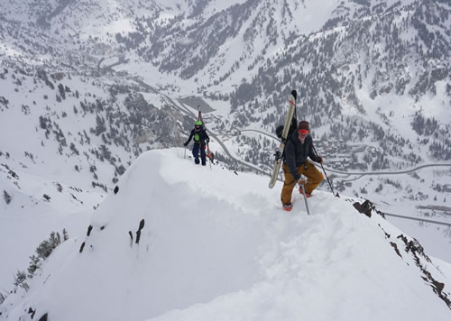 Youth Ski Mountaineering